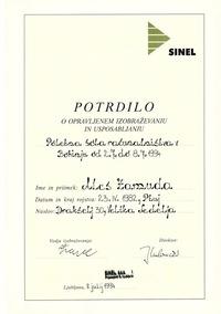 1994 Sinel Bohinj poletna sola racunalnistva