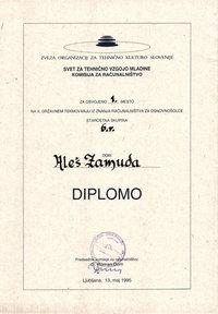 1995 1 mesto 6 razred drzavno