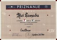 1997 5 mesto corel