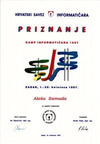1997 Zadar Kamp Informaticara