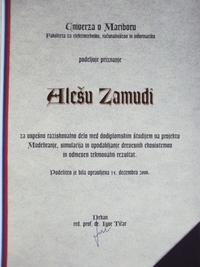 2006 FERI raziskovalno delo EcoMod ERK SPC slo