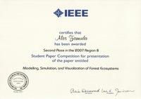 2007 IEEE R8SPCaward