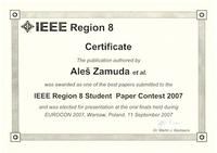 2007 IEEE R8 SPC best papers