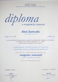 2008 FERI diploma MSc DEMOwSA