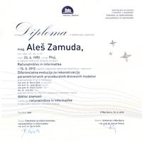 2012 UM diploma o doktoratu SLO