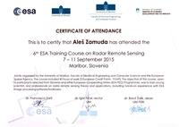 2016 ESA course SAR