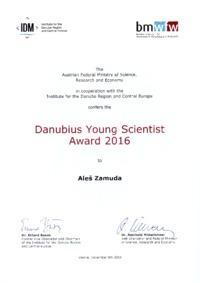 2016 IDM Danubius Award