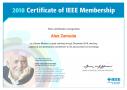 IEEEMemberCertificate