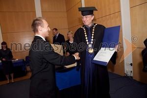 Dr. Ales Zamuda promotion at University of Maribor may 2012